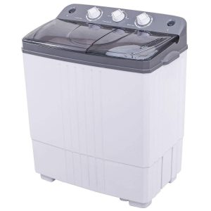 Giantex Portable Twin Tub Mini Compact Washing Machine