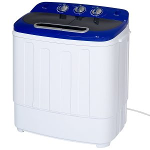 Best Choice Products 13lbs. Portable Compact Twin Tub Washing Machine