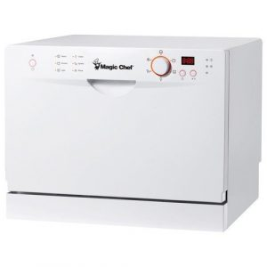 Magic Chef MCSCD6W3 Countertop Dishwasher