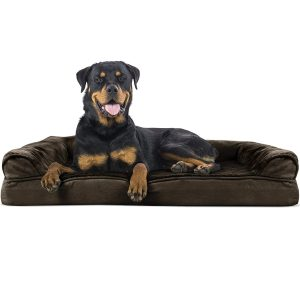 Furhaven Pet Orthopedic Sofa-style Couch Pet Dog Bed