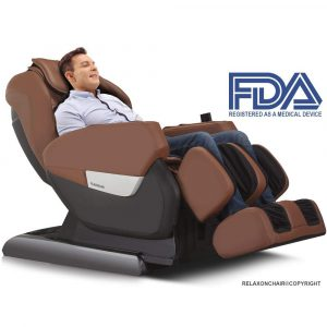 RELAXONCHAIR MK-IV Zero Gravity Shiatsu Massage Chair