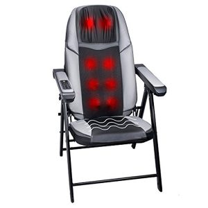 Bruntmor Adjustable Folding Shiatsu Massage Chair