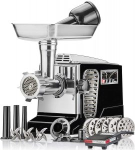 STX INTERNATIONAL Size #12, Electric Meat Grinder