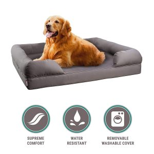 Petlo Orthopedic Comfortable Pet Sofa Bed With Removable Cover