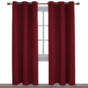 NICETOWN Home Decorations Blackout Living Room Curtains