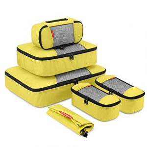 Gonex Travel Packing Cubes Luggage Organizers Set