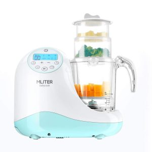 MLITER All in One Steam Cooker, Baby Food Maker