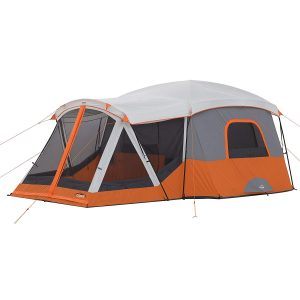 CORE 11 Person Cabin Tent 17' x 12' with Screen Room