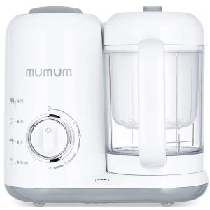 Mumum Baby 4-in-1 Food Maker, Steam, Defrost, Cook, and Blend