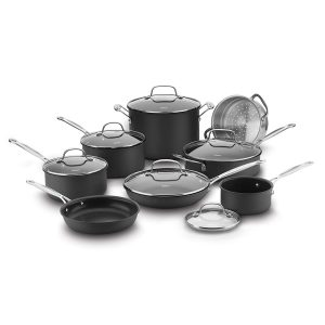 Cuisinart 66-14N Hard Anodized Chef's Classic 14 Piece Cookware Set