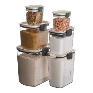 Progressive- Prepworks 6-Piece ProKeeper Set Food Storage Containers