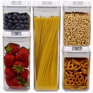 Airtight Food Storage BPA Free Containers with Lids