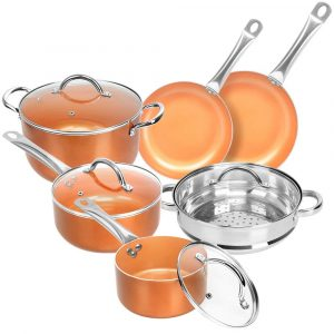 Top 10 Best Non-Stick Cookware Set in 2019 - Reviews - Buythe10