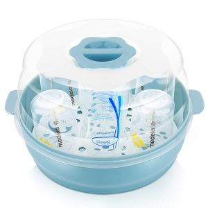 GOLOHO Baby 6 baby Bottle Microwave Steam Sterilizer