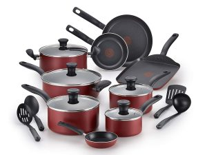 T-fall Cookware Set, 18 Piece Nonstick Cookware Set