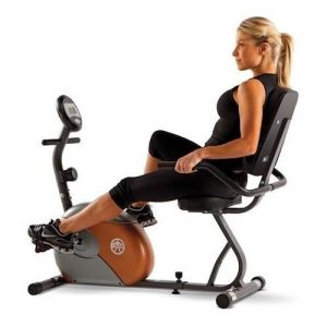 Marcy Recumbent ME-709 Exercise Bike