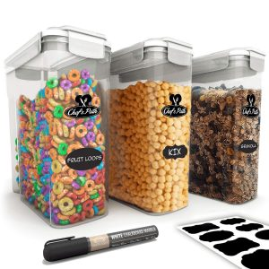 Chef's Path Cereal Storage 3-PC Container Set