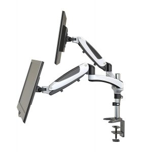HUANUO Full Motion Dual Monitor Arm Stand
