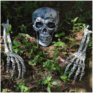 JOYIN Realistic Looking Skeleton Stakes, Yard Lawn Stakes, Groundbreakers Yard Decorations