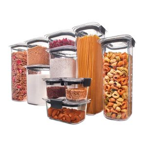 Rubbermaid Brilliance 10-Piece set Pantry Airtight Food Storage Container