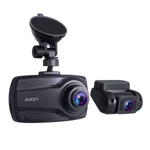 AUKEY 1080p 2.7 inches Screen Dual Dash Cams