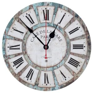 KI Store Decorative Silent Wall Clocks for Living Room