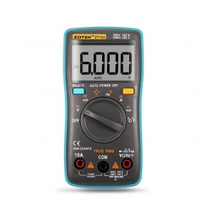 ZOTEK Digital Multimeter Digital Multi Tester
