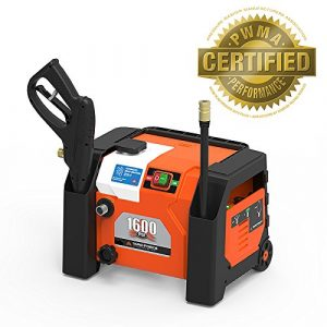 YARD FORCE All-in-1 1600 PSI Electric Pressure Washer
