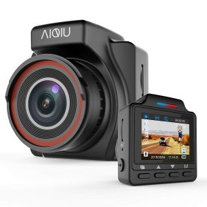 AIQIU Dash Cam, Motion Detection C1 1296P FHD Driving Recorder