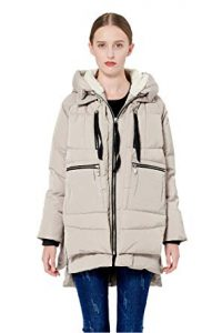 Orolay Women's Winter Jacket - Thickened Down Jacket