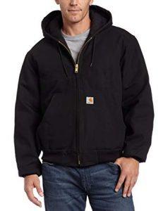 Carhartt Men's Flannel Lined Quilted Duck Active Jacket