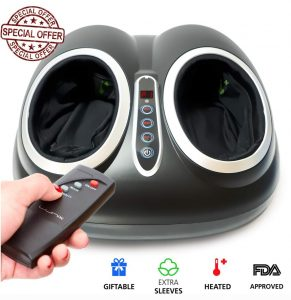 Lunix- Upgraded Shiatsu Electric Foot Massager Machine