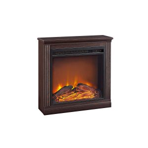 Ameriwood Home Electric Fireplace, Bruxton Cherry