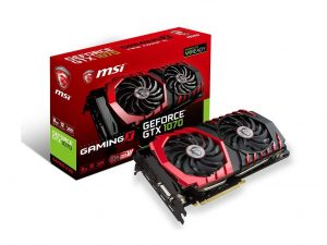 MSI Gaming GeForce 8GB GTX 1070 Ready Graphics Card