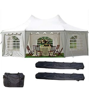 DELTA Canopies Decagonal Party Tent