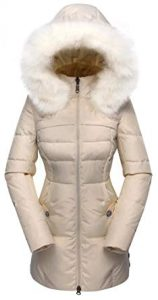Beinia Valuker Women's Down Coat - Down Parka Puffer Jacket