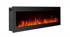 GMHome 40 inches Wall Mounted Electric Fireplace