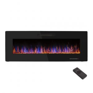 R.W.FLAME 50 inches Wall Mounted Electric Fireplace