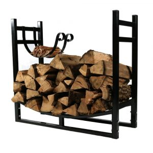Sunnydaze Decor Indoor:Outdoor Firewood Log Rack