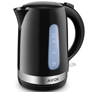 AICOK- Electric Kettle 1.7L HandyPouring 1500W Electric Tea Kettle