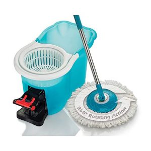 BulbHead- Hurricane Spin Floor Mop Home Cleaning System