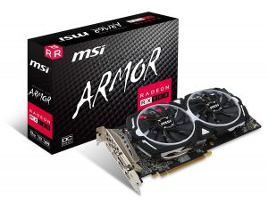 MSI VGA RX 580 Graphic Cards