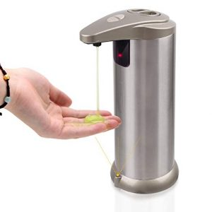 Cakie Soap Dispenser Waterproof Base Stainless Steel Automatic Shampoo Box