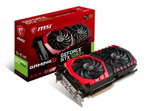 MSI GAMING GTX 1080 GeFroce Graphics Card