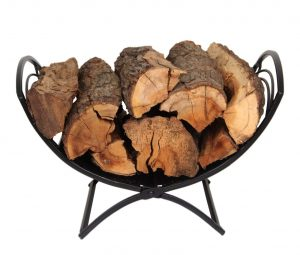 Patio Watcher  Decorative Folding Log Bin Firewood Rack
