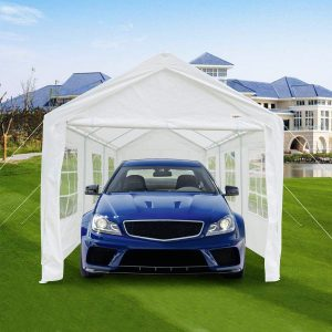 VINGLI 10' x 20' Outdoor Domain Carport, Party Tent