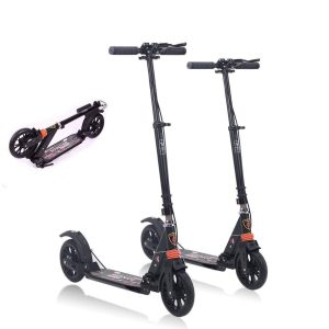 MONODEAL 2 Wheel Adjustable Height Scooter