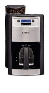 KRUPS Grind and Brew 10 Cups Auto-start Black Coffee Maker