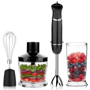 OXA Smart 4-in-1 Immersion Hand Blender 6 Speed Control
