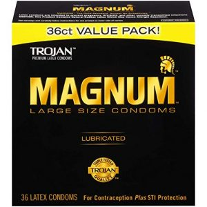 TROJAN- MAGNUM 36ct Large Size Condoms